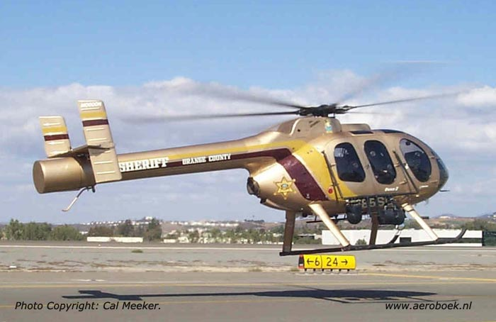 Orange County Sheriff Helicopter